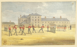 At Woolwich Arsenal, c.1825